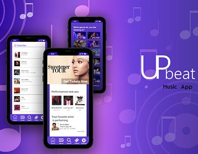 Upbeat Mobile Music App