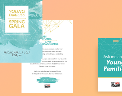 Fundraising Gala Branding (Young Families)