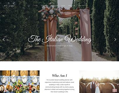 The Italian Wedding Website