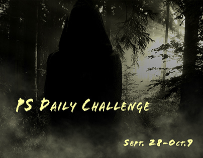 """PS Daily Challenge """"Dark Art"""" Collection"""