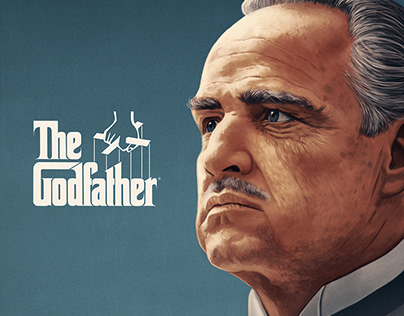 The Godfather – officially licensed print