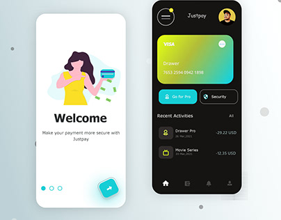 JUSTPAY Online Payment App