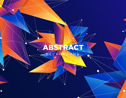 Background Abstract Colorful Geometric