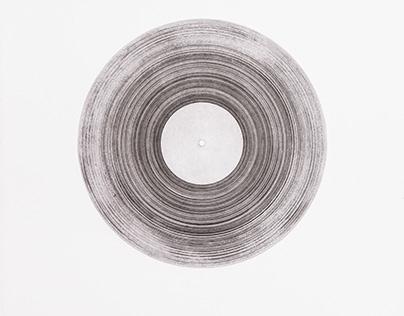 Metamorphosis of Sound in Space, etching