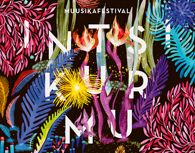 Intsikurmu music festival 2016 illustration