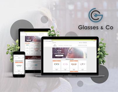 Glasses & Co - Branding & Website