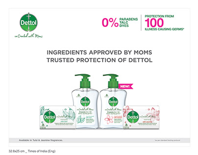 Dettol Mom Mandate Print Ad-Times Of India