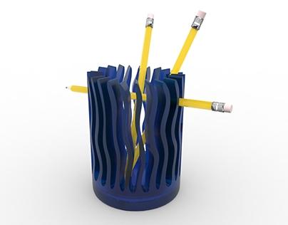WAVE pencil holder