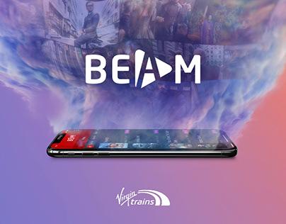 BEAM - Virgin Trains onboard entertainment