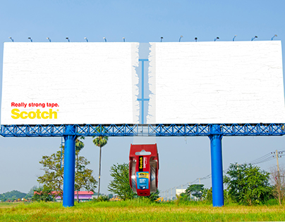 Scotch: Heavy Duty Installation Campaign