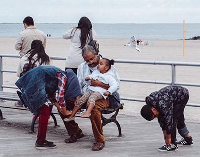 Coney Island in October