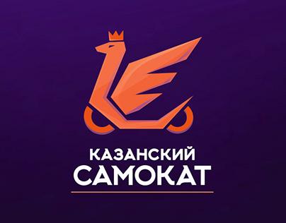 Логотип сервиса аренды самокатов