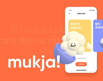 MUKJA - UX/UI Project