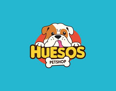 Propuestas logotipo - Huesos Petshop