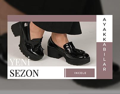 Elrozo Giyim - Ayakkabı Banner Tasarımı