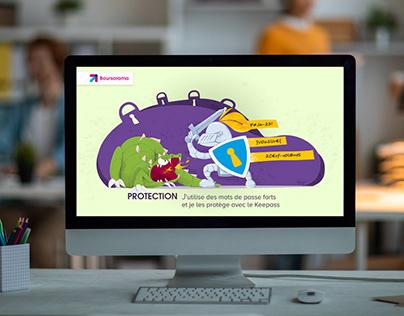 campagne d'illustrations digitales