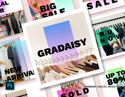 Gradaisy Social Media Pack