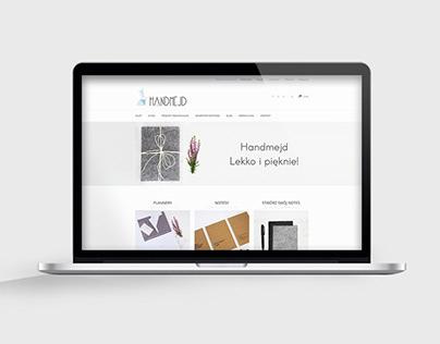 Handmejd.pl | Web Design of an online store