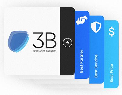 3B Insurance Brokers Web Design