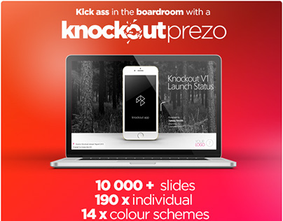 Kick ass in the boardroom with a Knockout Prezo