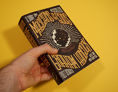 Magicians Of The Gods - A redesigned bookcover