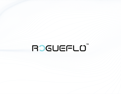 RogueFlo Technology Logo Design