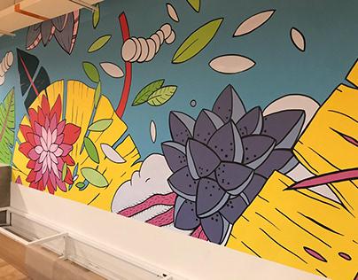 NEW! Heroinax Mural at Bogotá