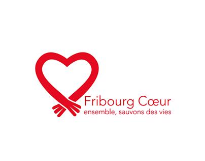 Fribourg cœur LOGO & VISIT CARD
