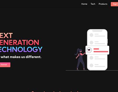 HTML, CSS Website