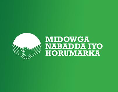 Midowga Nabadda iyo Hormarka - Brand Identity