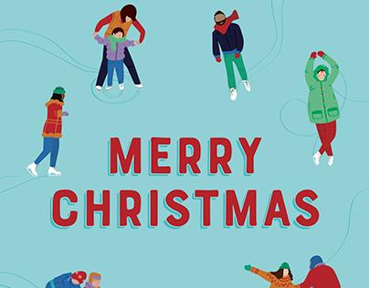 Christmas Card – Above the Fold