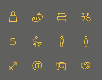Design de ícones - Tegra Incorporadora