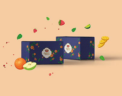 Del Monte Fruit Juices // Festive Packaging Design