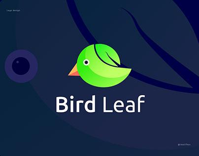 Bird Leaf Logo design   Abstract branding modern logo