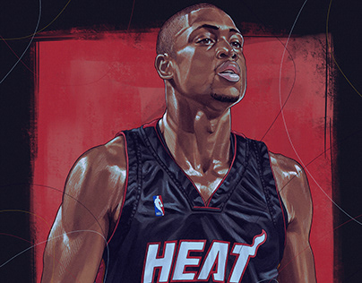 NBA Best 2000's Player's illustrations