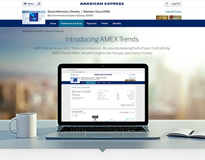 American Express Trends