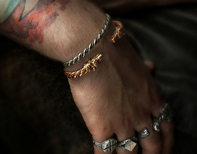 Viking bracelet - Tyvodar.com