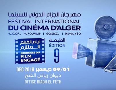 Promo Festival International d'Alger Film Engagé