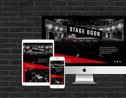 Stage Door Responsive Screen Design