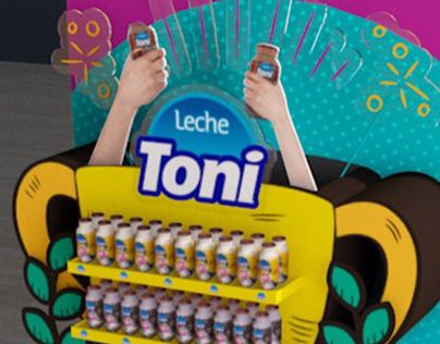 Gondola Leche Saborizada Toni