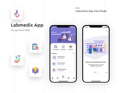 Labmedix App - UI/UX design