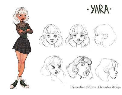 Yara - Character design