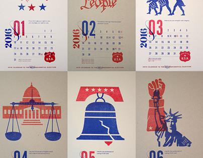 USA Democrazy 2016 - Calendar