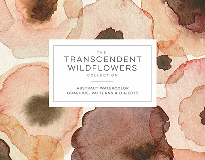 The Transcendent Wildflower Collection by Blixa6 Studio
