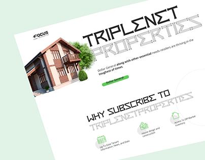 Triplenet properties