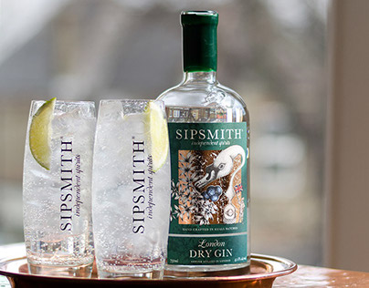 Sipsmith - Website Redesign