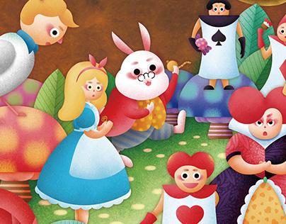 心之芳庭-兒童節企劃 Alice in Wonderland