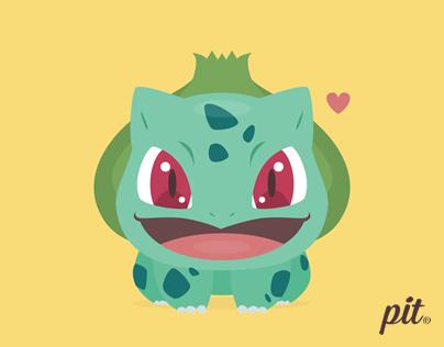 Kawaii Pokémon Starters