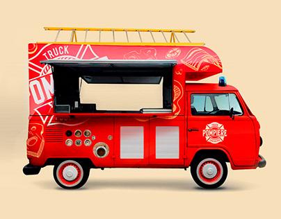 Truck Pompiere Food Helper: Brand/Logo/Visual identity
