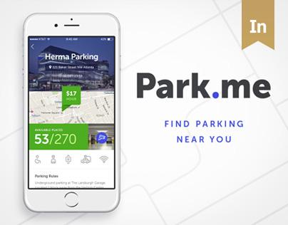 Park.me application